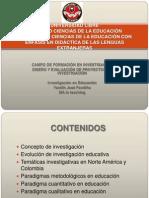 01262014 Investigacion  educativa