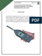 Informe Del Sonometro