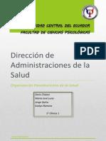Administración Organizaciones de La Salud