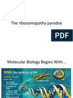The Ribosomopathy Paradox