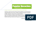 Gacetilla de Prensa del Frente Popular Necochea 04