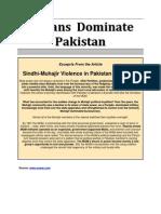 Indians Dominate Pakistan