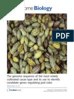 Cocoa Genome