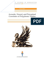 Vinoo Alluri Acoustic Neural and Perceptual Correlates of Polyphonic Timbre