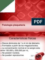 Fisiologia Plaquetas