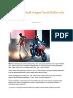 motor sport turing Ducati Multistrada 1200 di gelaran EICMA