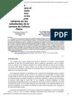 Estrategia Metodológica Para El Perfeccionamiento de La Enseñanza-Aprendizaje de Los Bailes Populares Cubanos en Los Estudiantes de La Carrera de Cultura Física
