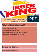 fast food burger king