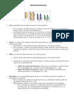 Resumo Biologia - GENETICA