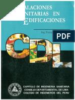 Libro de Instalaciones Sanitarias en Edificaciones