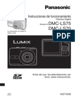 Panasonic DMCLS75-SPAÑOL manual usuario