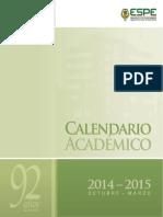 Calendario Academico PDF