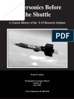 A Concise History of the X-15 Research Airplane