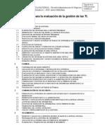 Metodología Auditoría TI