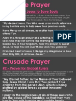 CRUSADE PRAYERS