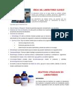 Reactivos Utilizados en Laboratorios