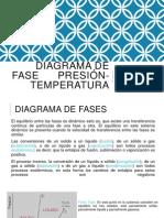 Diagrama de Fase Presión-temperatura