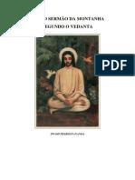O Sermão Da Montanha Segundo a Vedanta - Por Swami Prabhavananda (Português)