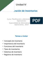 Administración Inventarios Espec. 2014