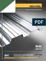 Deck Steel Placa Colaborante Manualo de Instalación Del Producto