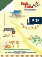 Tech For Seva 2014 English Brochure