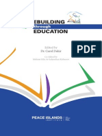 PEACEBUILDING through EDUCATION