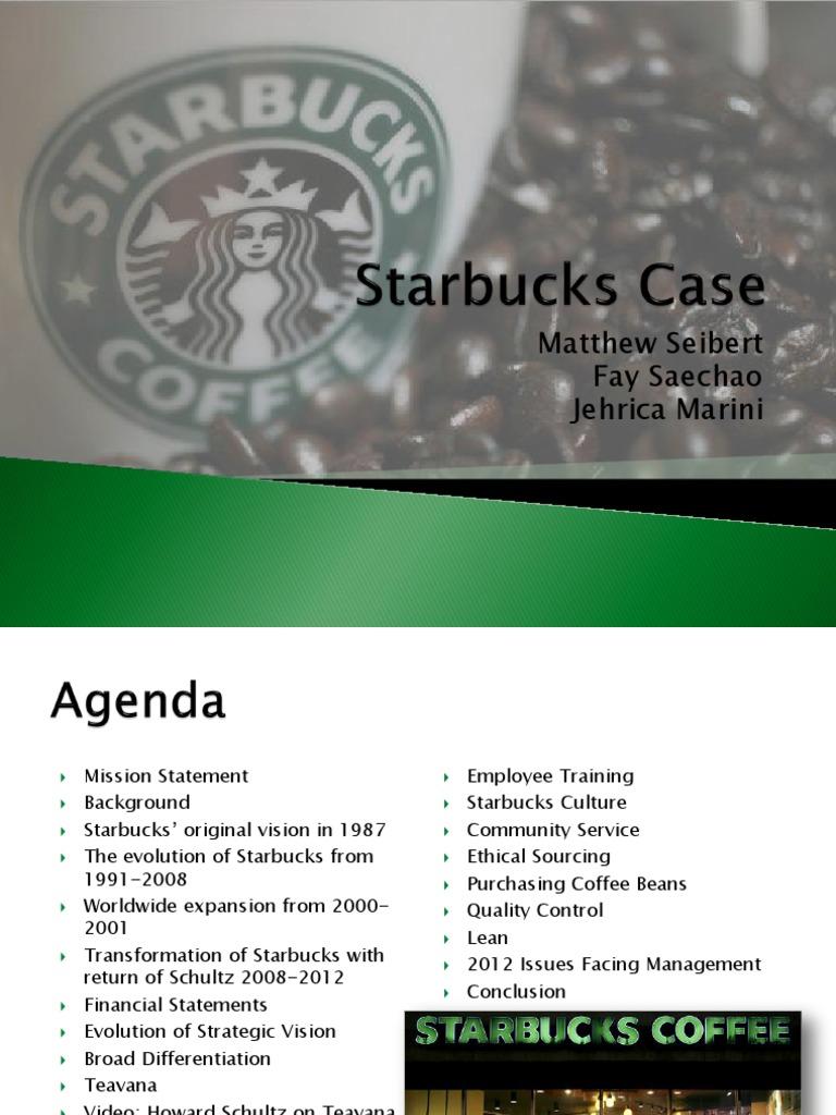 starbucks financial statements 2012