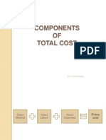 Components of Total Costs