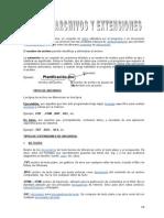 Tipos de Archivo y Extensiones-Informatica