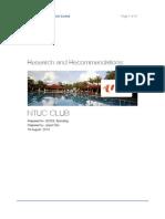 NTUC Club Brand Research