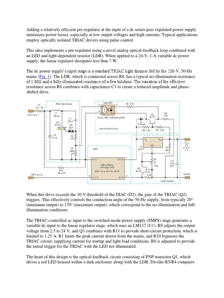 Amazing Uses Of An Ldr Gallery - Electrical System Block Diagram ...