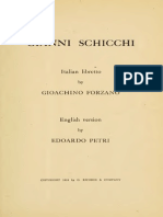 Gianni Schicchi English