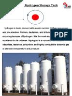 Risk Analysis of Hydrogen Storage Tank