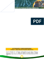 ACTIVIDADES COMPLEMENTARIAS Unidad 2. Desarrollo del Proyecto Electrónico