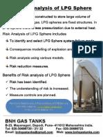 Risk Analysis of LPG Sphere