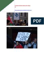 Demos Gaza July-August 13.8.14
