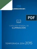 Catalogo Anual de Iluminacion 2015