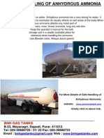 Safe Handling of Anhydrous Ammonia