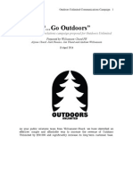 421 Outdoors Unlimited Final Proposal