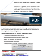 Safety Considerations in the Design of LPG Storage Vessels