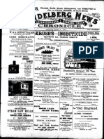Heidelberg News June 1900