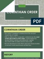 Corinthian Order Racho