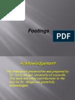 footing design as per astm