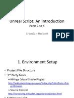 Unreal Script 1 to 4