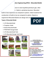 Safety Relief Valve Engineering (PSV) - Mounded Bullet