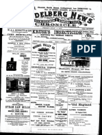 Heidelberg News July 1900