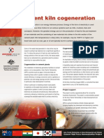 Cement Kiln Cogeneration