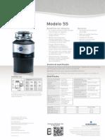 Triturador de resíduos alimentares InSinkErator® modelo 55