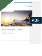 Brand Analysis Lufthansa - Brand Management