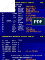 Example of SIC Assembler Language Program